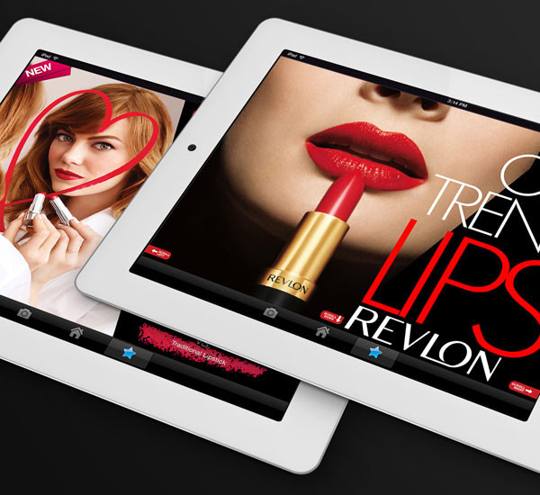 REVLON MARKETING iPad APP